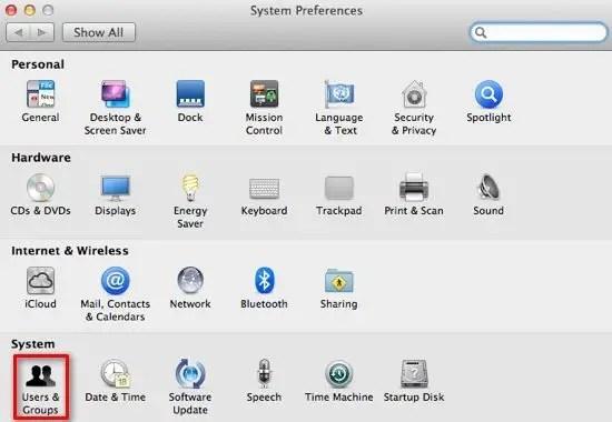 System Preferences