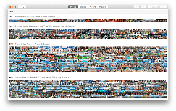 In Focus: The New Photos App for OS X Yosemite