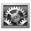 System preference icon mac
