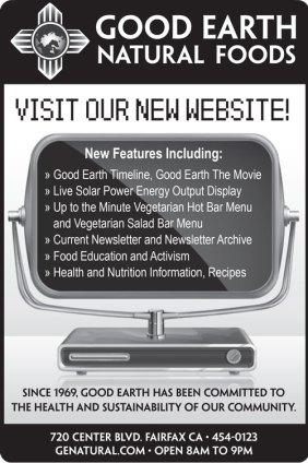 ChromaKit Graphic Design Good Earth Marin Citizen newspaper advertisment
