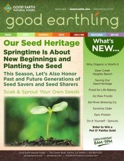 ChromaKit Graphic Design Good Earth Good Earthling Newsletter Cover