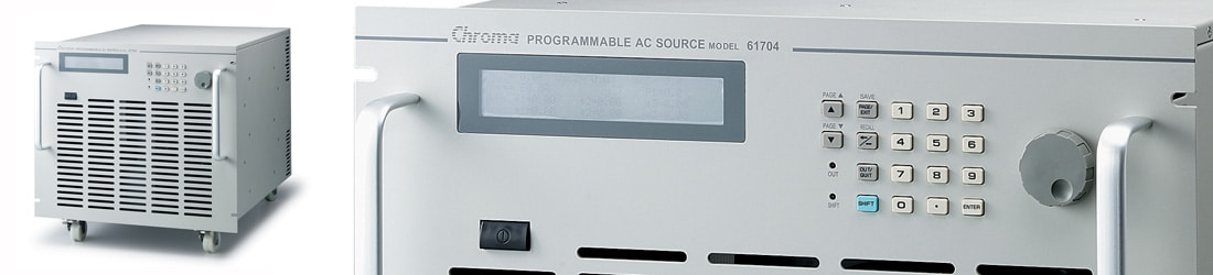 3-Phase Programmable AC Source - 61700 Chroma