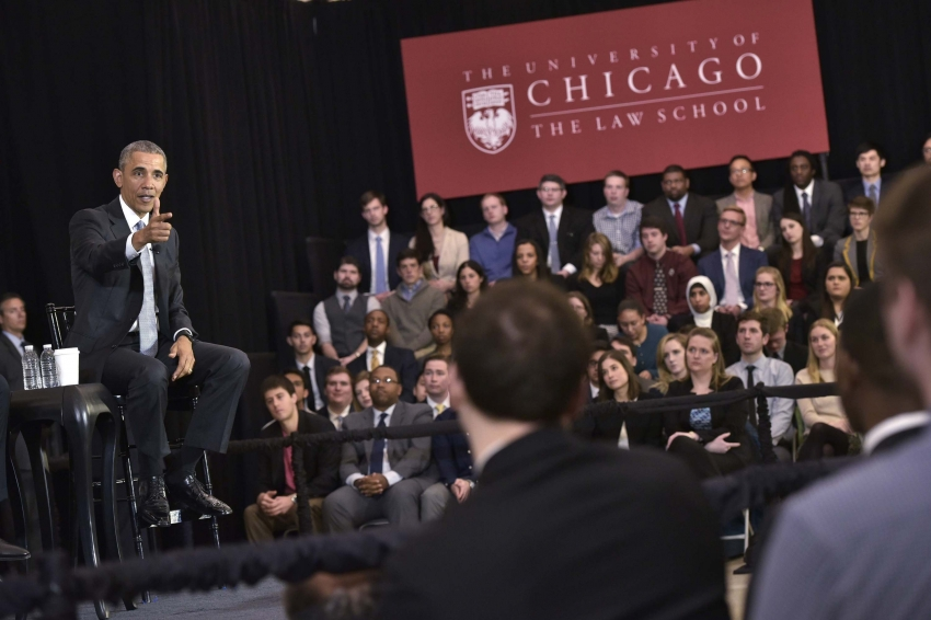 Prof Barack Obama Needs a New Job, So We Sent Around His Academic