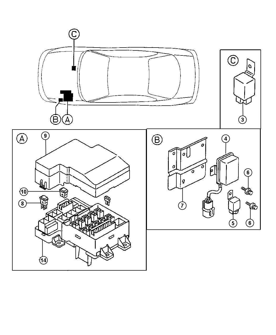 wiring diagram for 1997 chrysler sebring