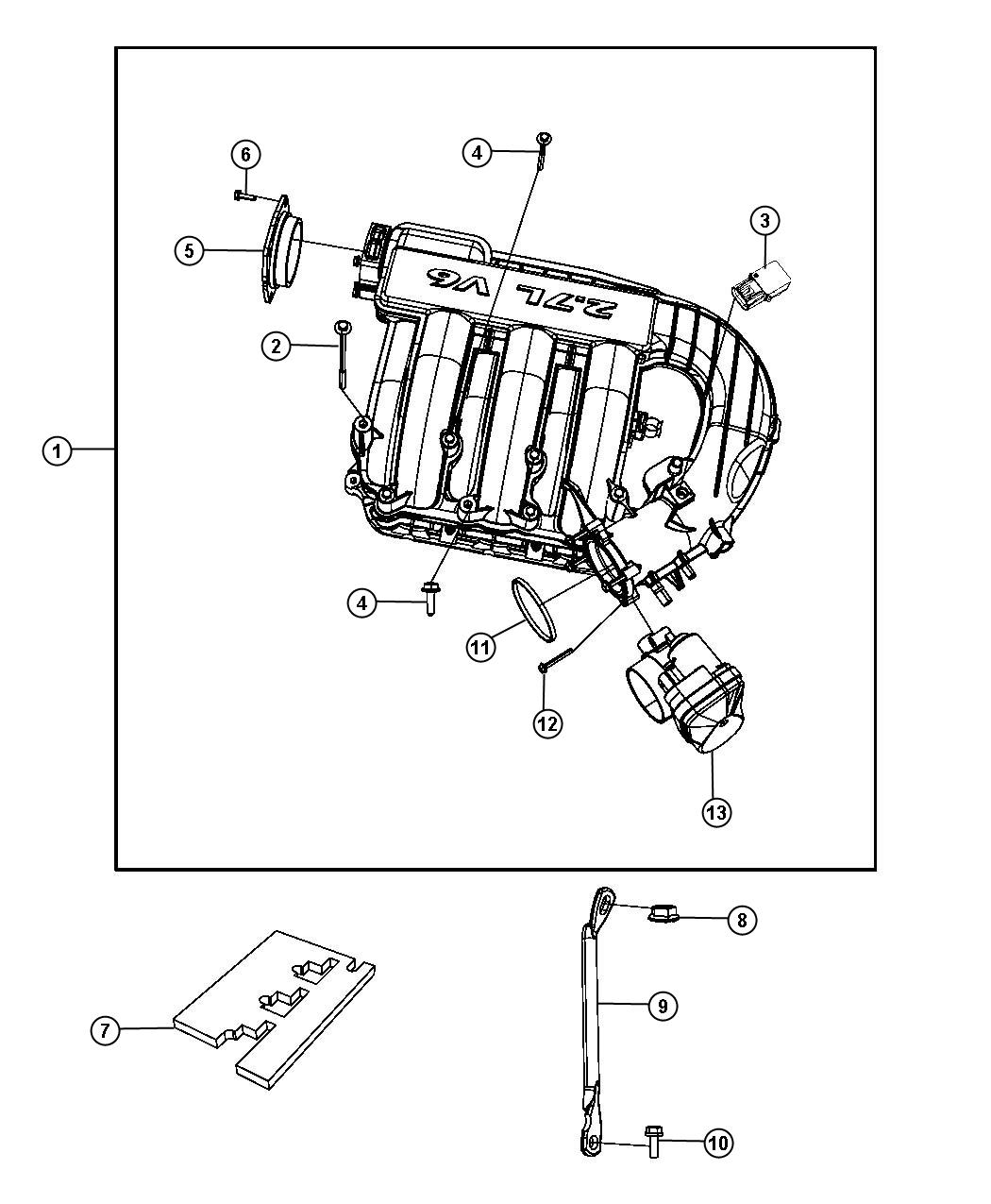chrysler 3 5l v6 sohc engine diagram