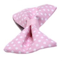 Pretty Pink Dots Bow Tie for Dog Collar