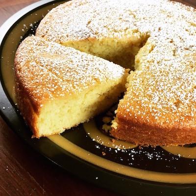bolo simples de limão