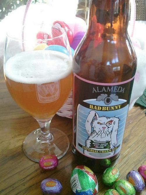 Alameda Bad Bunny Imperial Cream Ale