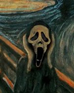 Scream mashup: the movie and the Munch painting