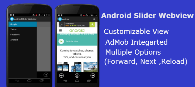 Buy Android WebView Slider Template Utilities Chupamobile - android template