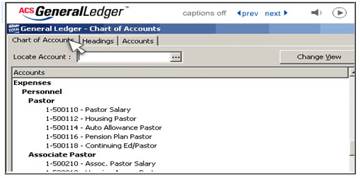 ACS Church Accounting Software Review Church Accounting Software Guide