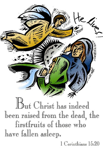 Resurrection Clip-Art and Images for All Your Easter Season Needs - free black and white bulletin covers