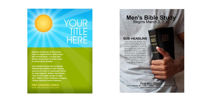 Church Flyer Template Church Art - flyer layout templates