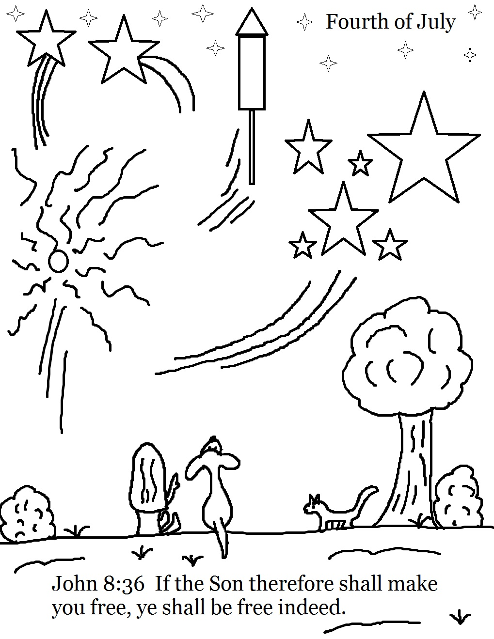 Coloring pages july - Coloring Pages July 4th Coloring Page Download