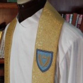 Cathedral Shield - Upper portion of Stole