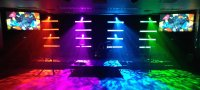 DIY Light Bars | Church Stage Design Ideas