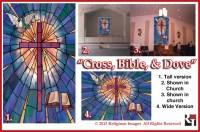 Church Window Film: Decorative window film that looks like ...