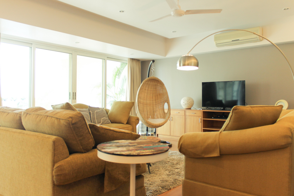 Swing Rattan Chair In India Living Room Before After Chuzai Living