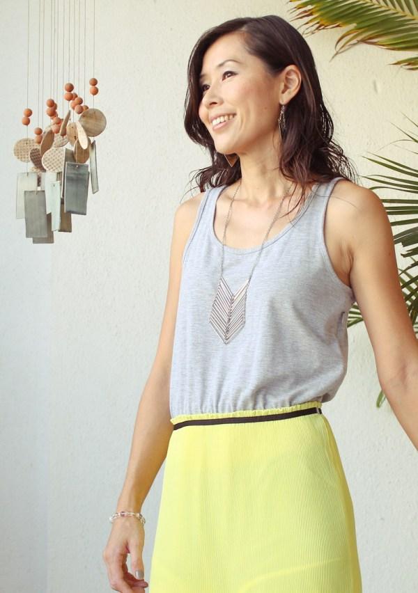 Mango Maxi Dress & Purse-6