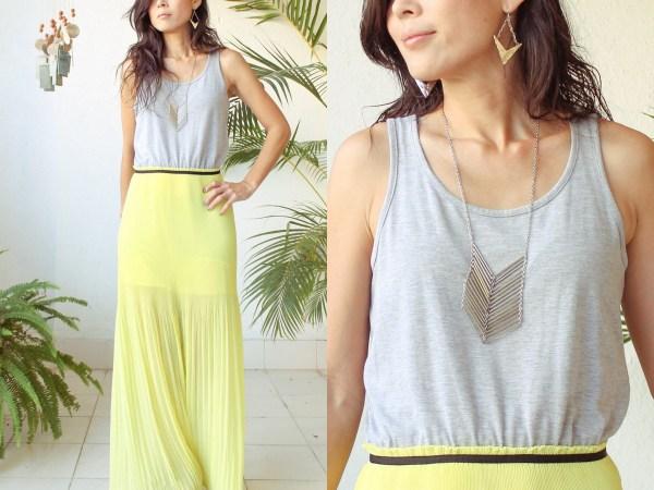 Mango Maxi Dress & Purse
