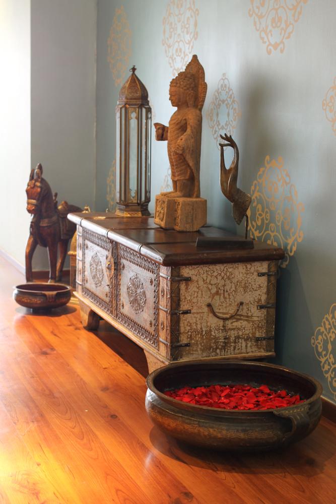 Tiffany Blue Amp Indian Design Chuzai Living