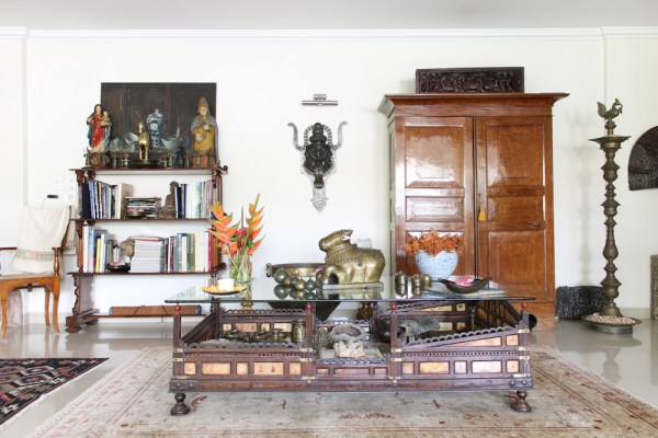 Home with Indian Antiques-6