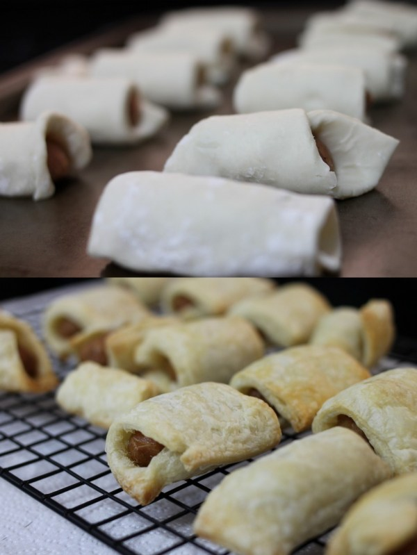 Hearsch Bakery Puff Pastry Pig in a blanket