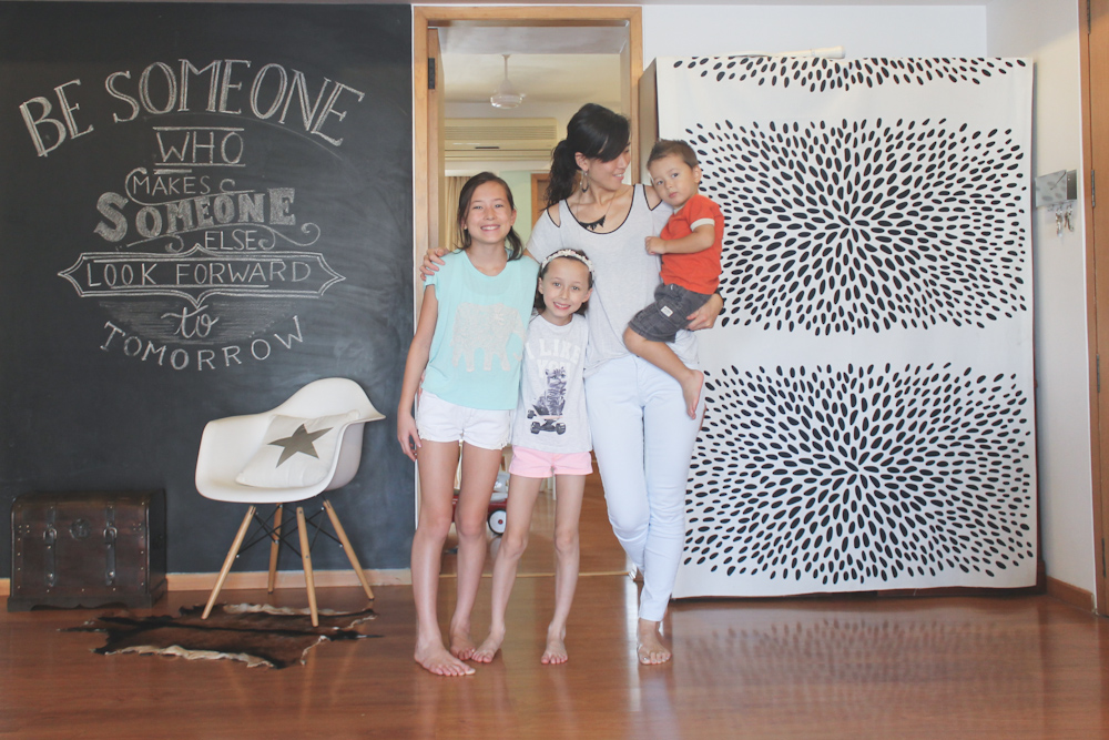 Chalkboard & Kids-2