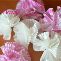 DIY: Paper Flower (From Cupcake Wrappers)