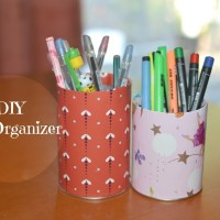 DIY: Pen Organizer (Using Pringles Cans)