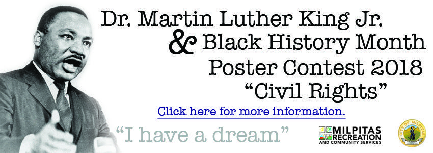 Dr Martin Luther King Jr  Black History Month Poster Contest