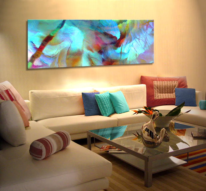 Abstract Art For Sale Large Canvas Prints Living Room  - living room canvas art