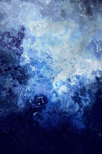 """""""Sapphire Dream"""" Abstract Art Painting"""
