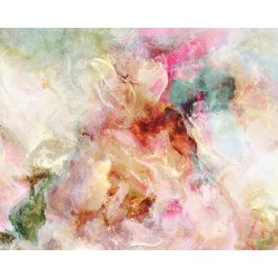 Small Crop Of Abstract Flower Paintings