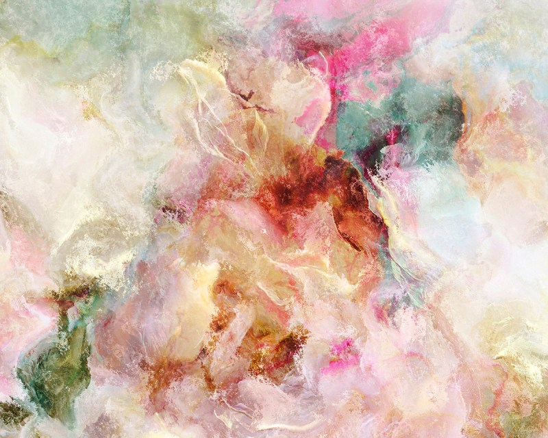 Large Of Abstract Flower Paintings