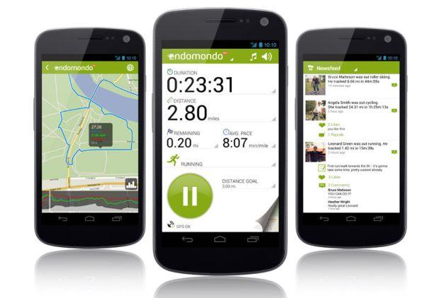 Endomondo - Aplicaciones para entrenar en bicicleta - CicloMag