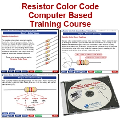 Resistor Color Code CD Course CIE Bookstore Online - resistor color code chart