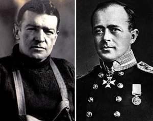 Shackleton y Scott