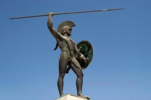 Monumento a Leónidas.
