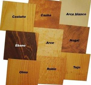 Clases de maderas – 3