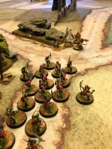 D&D Next game on a CBB mat
