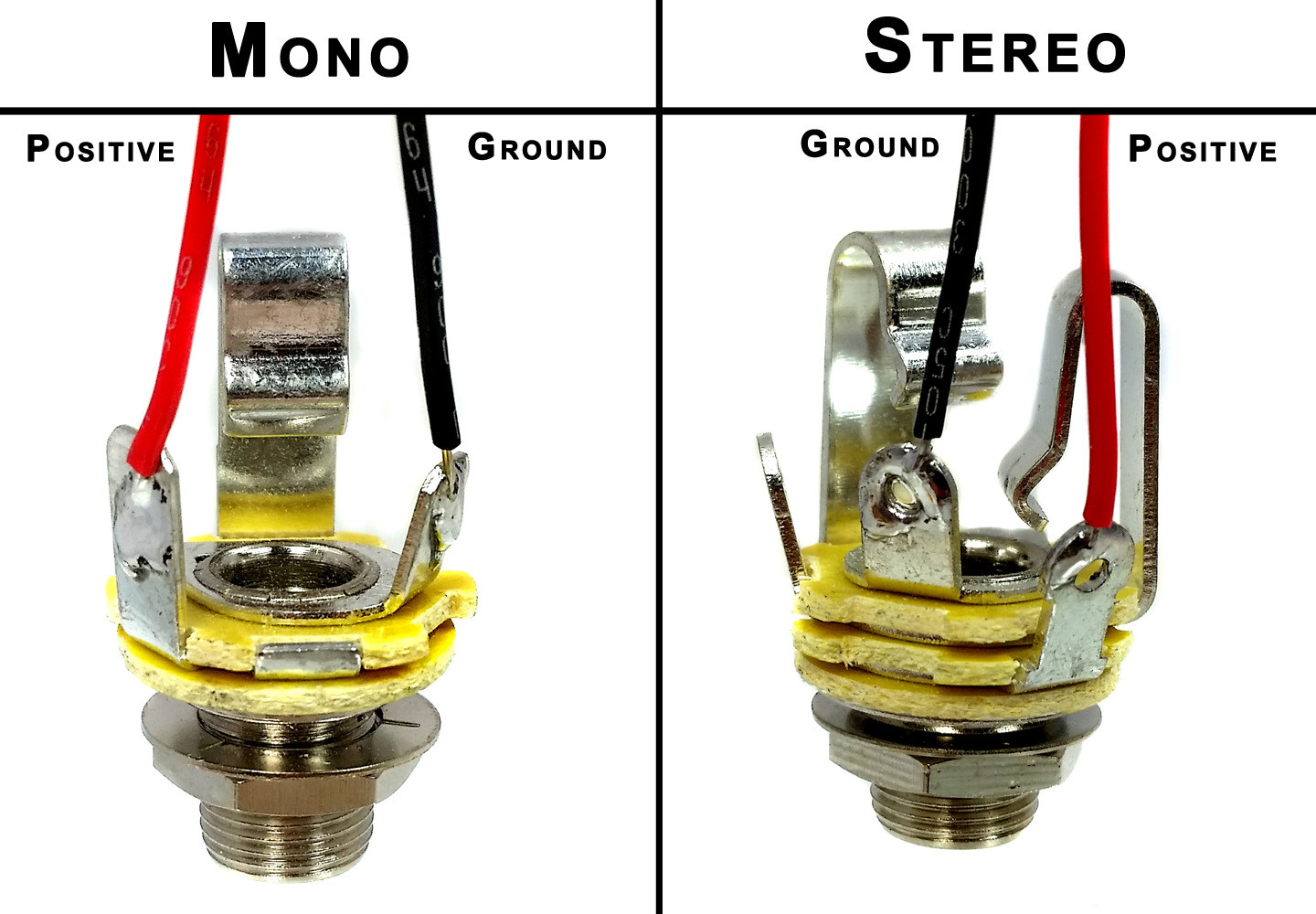 stereo output jack wiring