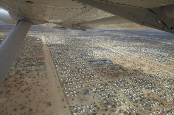 An arial view of the world's largest refugee camp. Dada. https://www.flickr.com/photos/oxfam/6302151099
