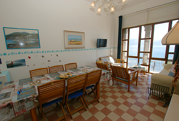 Holiday apartment with great seaview Casa Marinara - Cilento - arte m esszimmertisch
