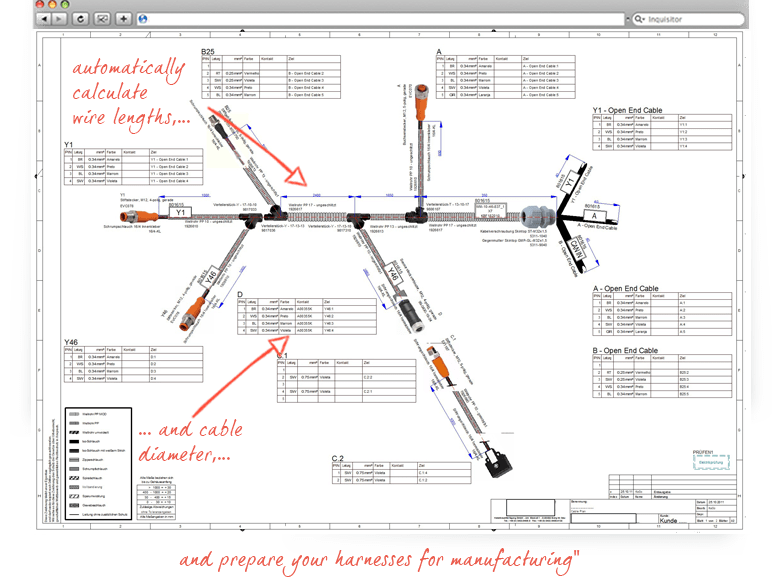 wiring harness design software