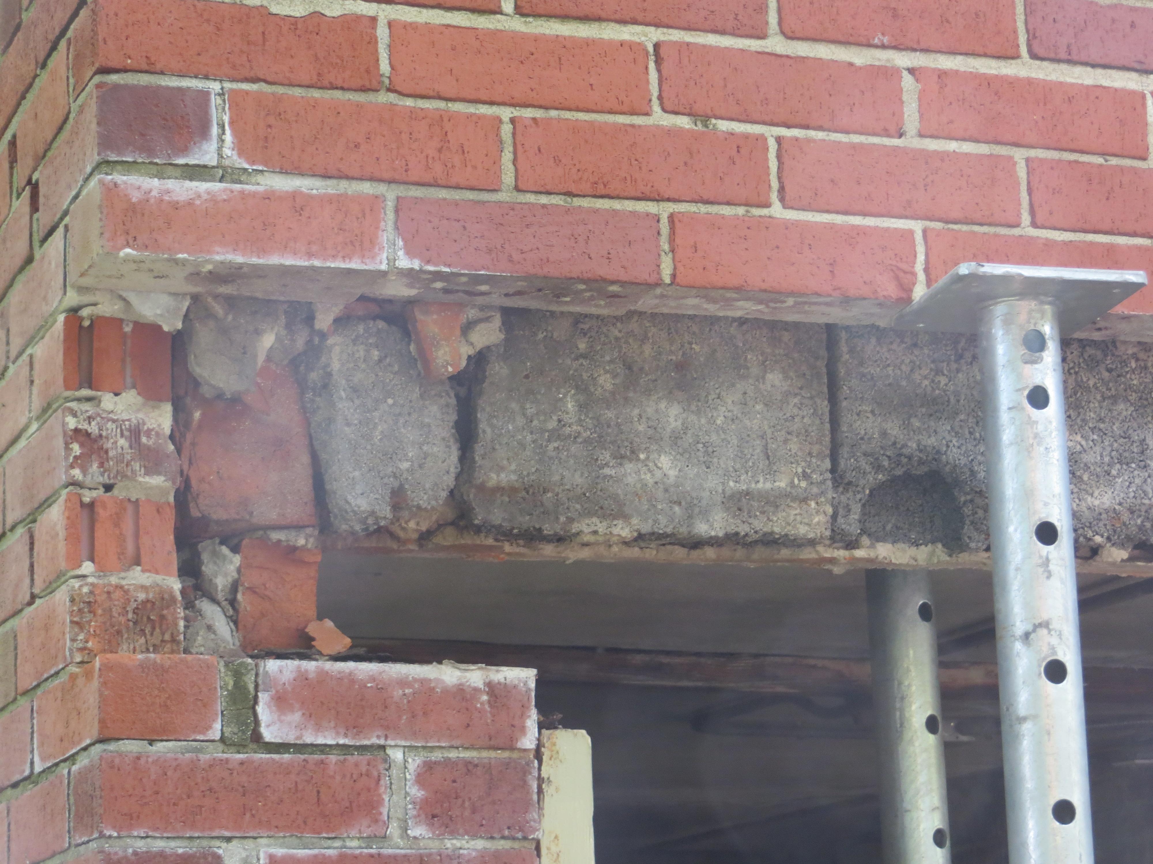 Garage Lintel Replacement