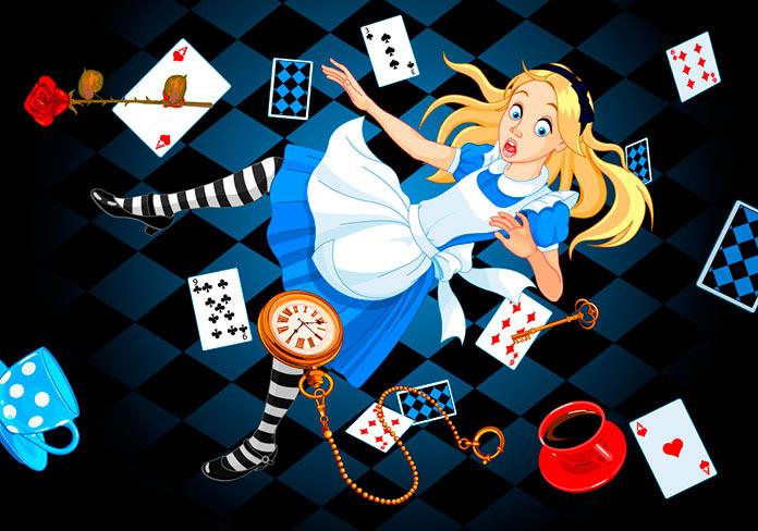 Falling Down The Rabbit Hole Wallpaper Alicia En El Pa 237 S De Las Maravillas Historia Y
