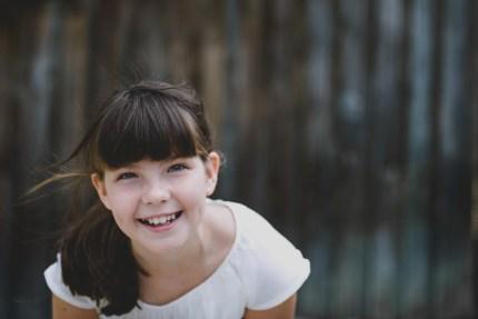 family photography sydney - girl in white dress