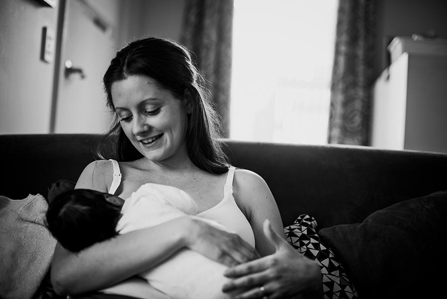 Newborn photographer in the Hills District