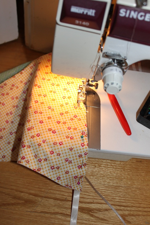 sewing triangles